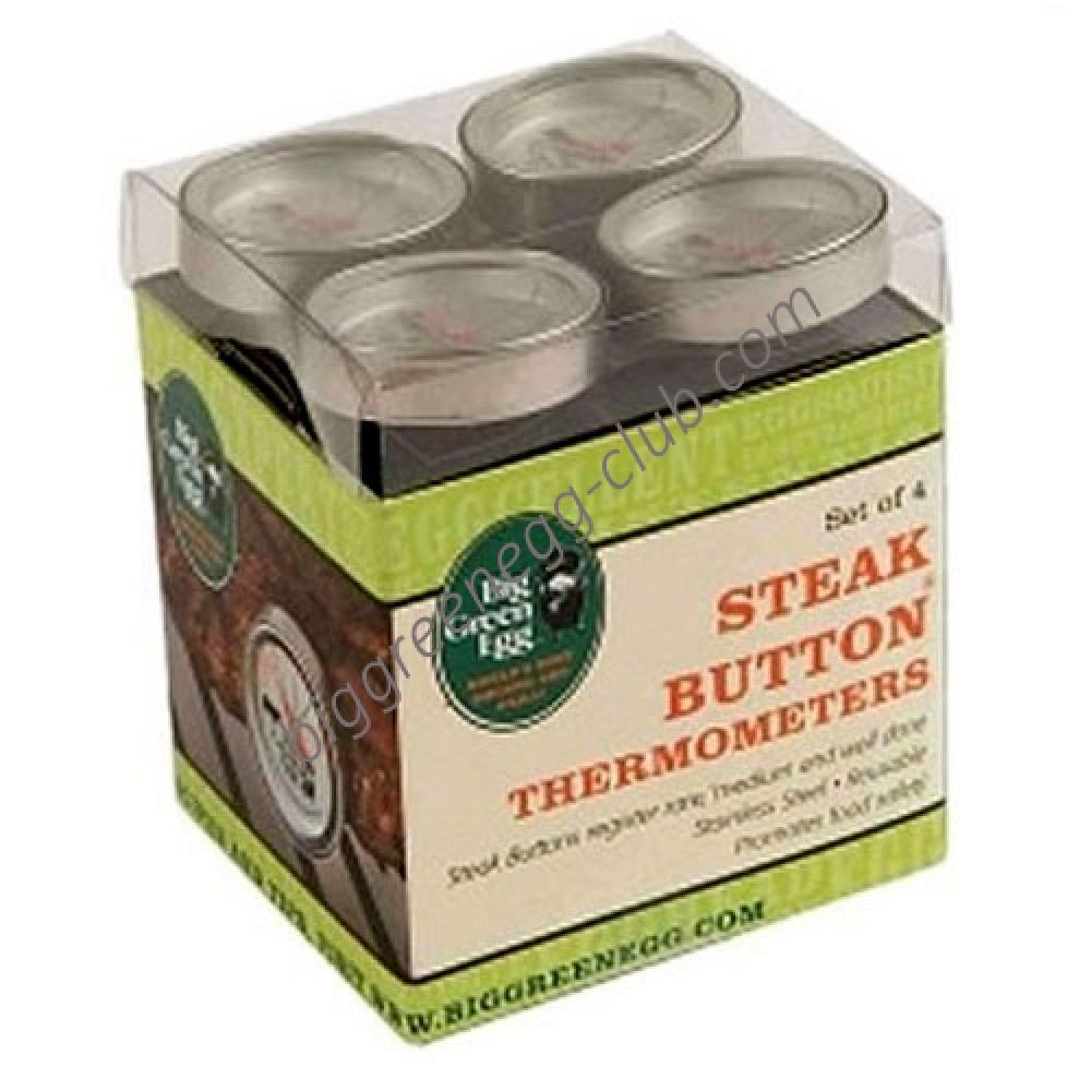 Набор многоразовых кнопочных термометров для стейка Big Green Egg