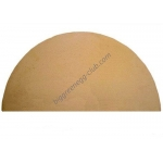 Глиняный полукруг для выпекания для Big Green Egg L