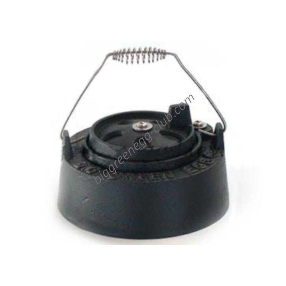 Металлическая крышка с двойной функцией Big Green Egg mini